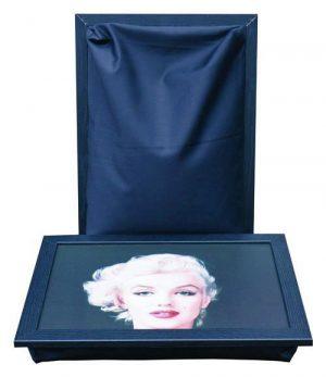 Dienblad met kussen met Marilyn Monroe