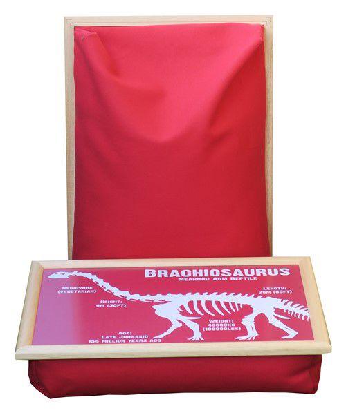Laptray-Schootkussen-Dinosaurus-Brachiosaurus-vooraanzicht