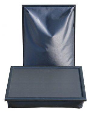 Schootkussen-Laptoptafel-Laptray-Zwart-vooraanzicht