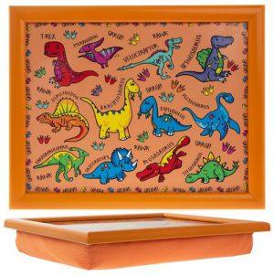 Schootkussen-Laptray-voor-Kinderen-Dinosaurus