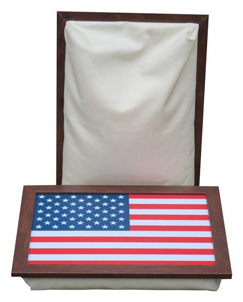 Schootkussen-Schoottafel-Laptray-Amerikaanse-Vlag-voorzijde