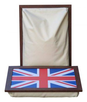 Schoottafel-Laptray-Engelse-Vlag-ecru-schootkussen
