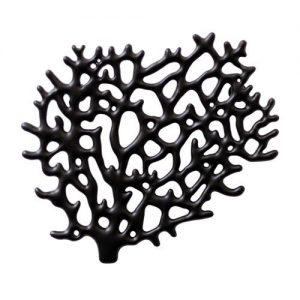 Zwarte sieradenhouder in koraalvorm van Bosign