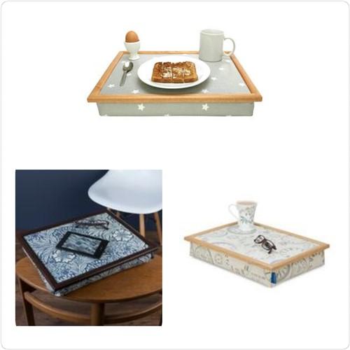 Eten, koffie of lezen op schoot met een schoottafel
