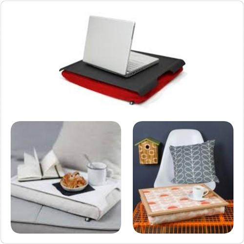 Handig hulpmiddel voor op schoot: een laptray