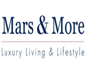 Logo Mars & More voor moderne woon- en lifestyle accessoires