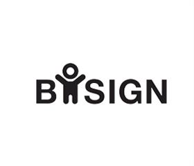 Bosign logo voor Zweedse design en functionaliteit - te koop bij Laptray.nl