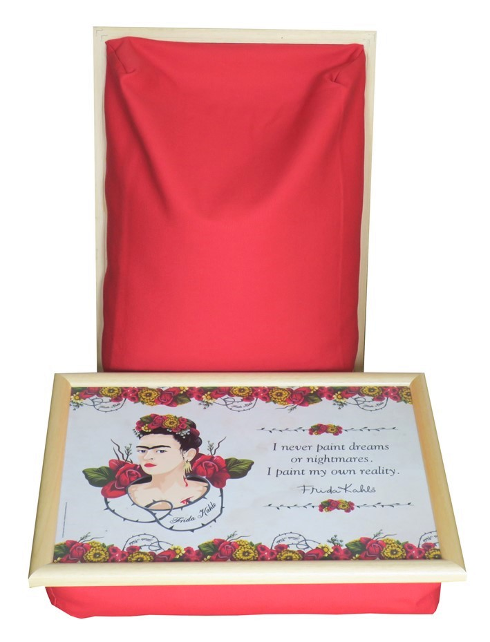 Frida-Kahlo-Schootkussen-Laptray
