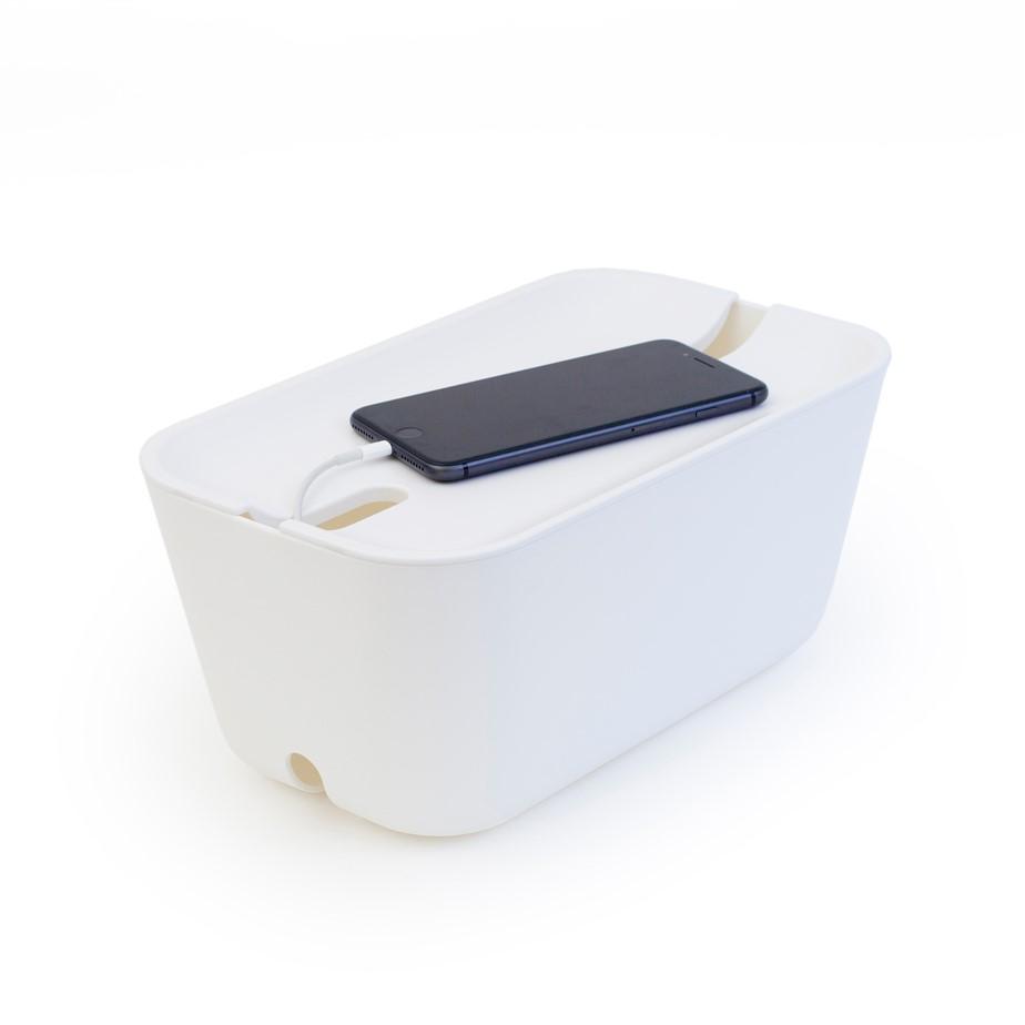 Kabelbox-opbergen-snoeren-wit-Bosign
