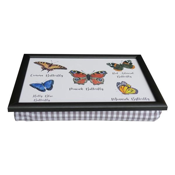 Schootkussen-Laptray-Vlinders